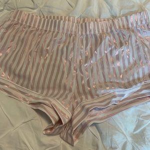 NWT Victoria's Secret striped pajama bottoms